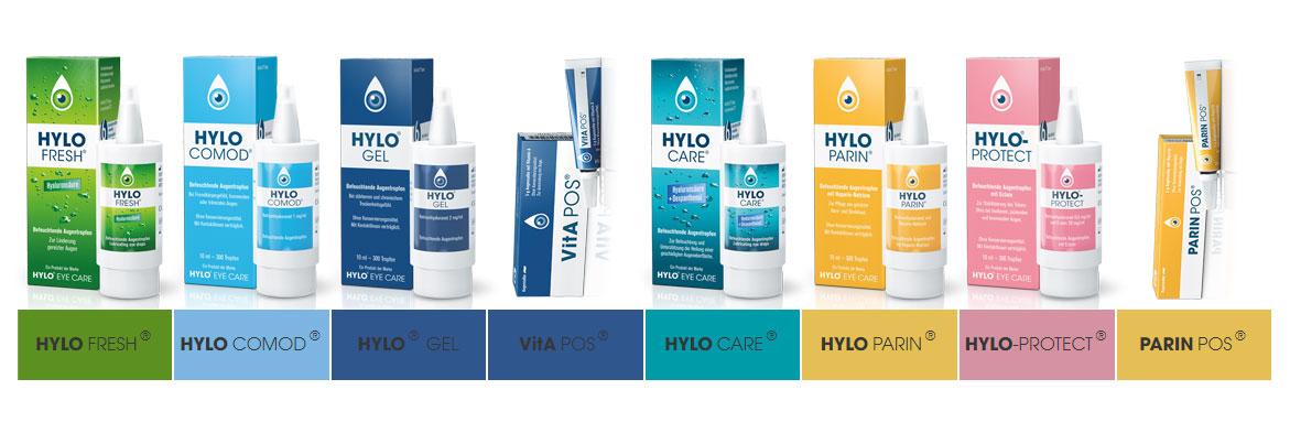 德国本土原装HYLO系列各种眼药水的详细说明和比较